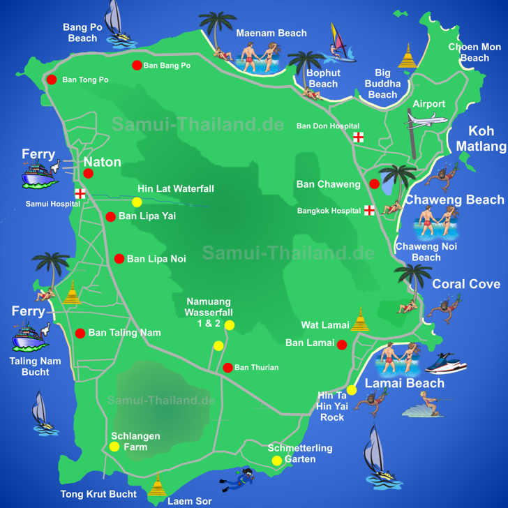 Thailand Island Resorts Koh Samui
